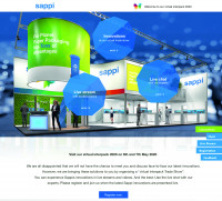 The globally active paper manufacturer Sappi is starting its first virtual trade fair. Image: Sappi