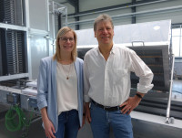 Jessica and Rainer Runkel. (Image: WDS)