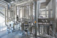 The new plant for short path destillation (SPD). (Image: Nutriswiss)