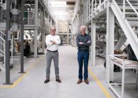 Peter Vyncke (l.) und Johannes Wick im Application Center von Bühler in Beilngries/Deutschland. (Bild: Bühler)