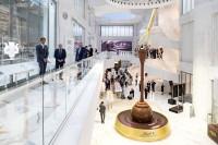 Swiss Federal Council Ueli Maurer, President of the Foundation Board Ernst Tanner and brand ambassador Roger Federer open the Lindt Home of Chocolate in Kilchberg, Switzerland (Image: Lindt & Sprüngli/Keystone/Alexandra Wey)