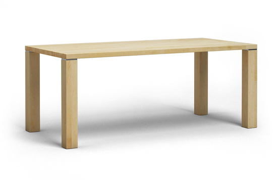 et02 esstisch aus ahorn massivholz von frohraum. Black Bedroom Furniture Sets. Home Design Ideas