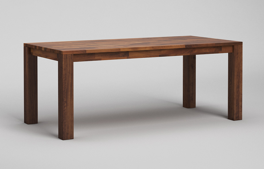 Esstisch Tisch Santos ~ ET10 Esstisch aus massivem Nussbaum von Frohraum