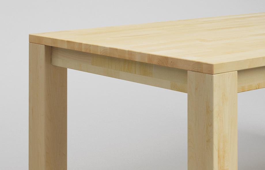 et10 esstisch aus ahorn massivholz von frohraum. Black Bedroom Furniture Sets. Home Design Ideas