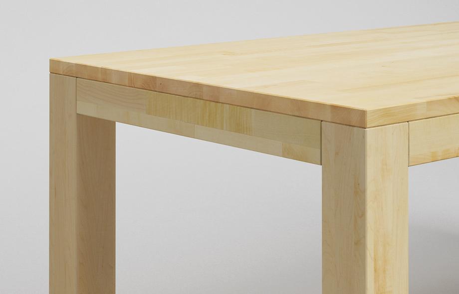 et11 esstisch aus ahorn massivholz von frohraum. Black Bedroom Furniture Sets. Home Design Ideas