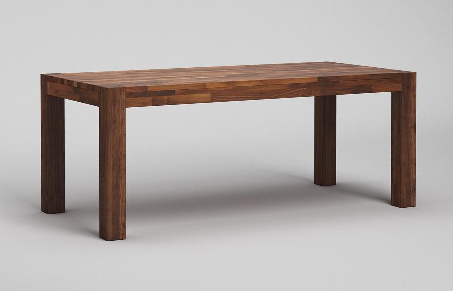 esstisch holz massiv nussbaum. Black Bedroom Furniture Sets. Home Design Ideas