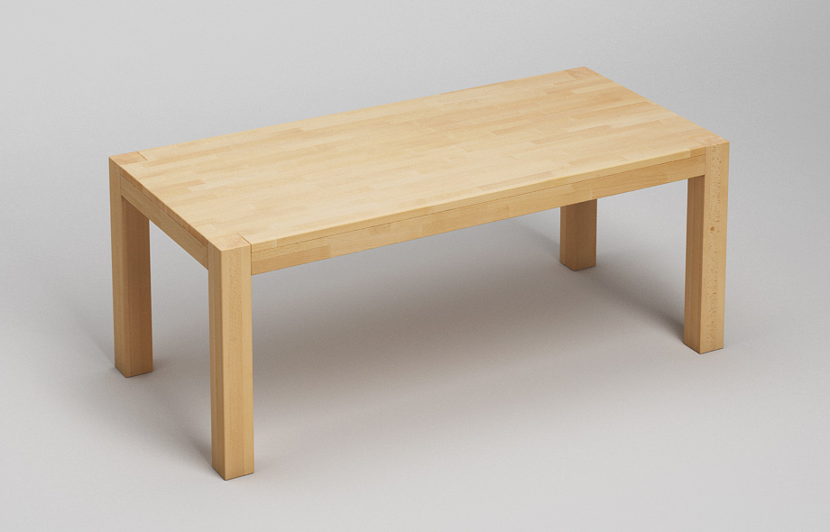 Esstisch massiv full size of einfaches wohndesign tisch for Esstisch massiv dunkelbraun