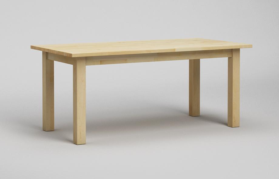 et20 esstisch ahorn massiv klassischer tisch von frohraum. Black Bedroom Furniture Sets. Home Design Ideas