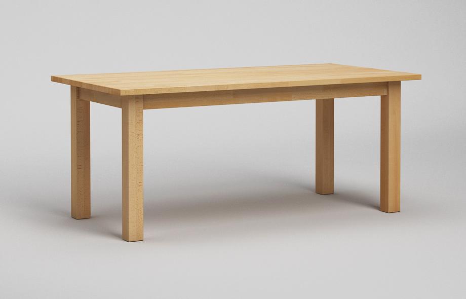 Et20 esstisch buche massiv klassischer tisch von frohraum for Esstisch massiv buche
