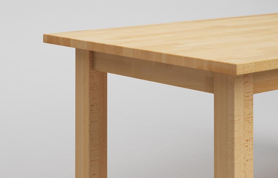 Esstisch Richwood Buche ~ ET20 Esstisch In 7 Holzarten  Klassischer Tisch von Frohraum