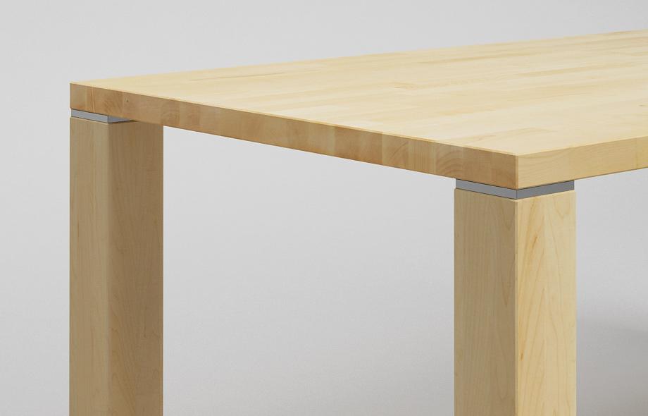 Et02 esstisch aus ahorn massivholz von frohraum for Esstisch ahorn