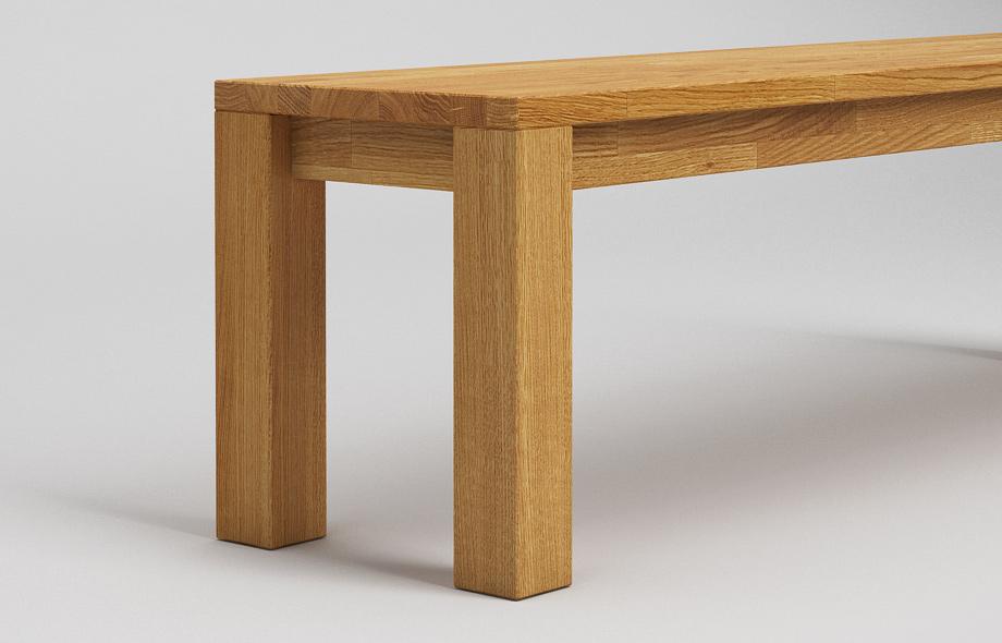 sb10 sitzbank aus eiche massiv von frohraum. Black Bedroom Furniture Sets. Home Design Ideas