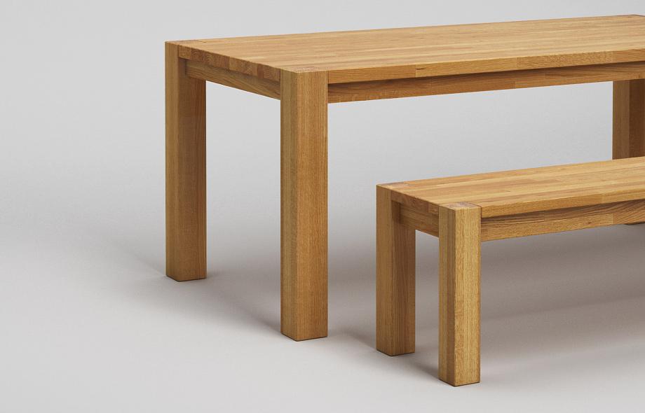 sb13 sitzbank aus eiche massiv von frohraum. Black Bedroom Furniture Sets. Home Design Ideas