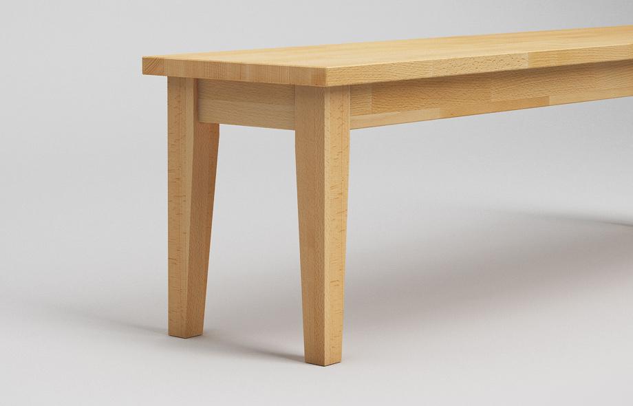 sb21 sitzbank aus buche massiv von frohraum. Black Bedroom Furniture Sets. Home Design Ideas
