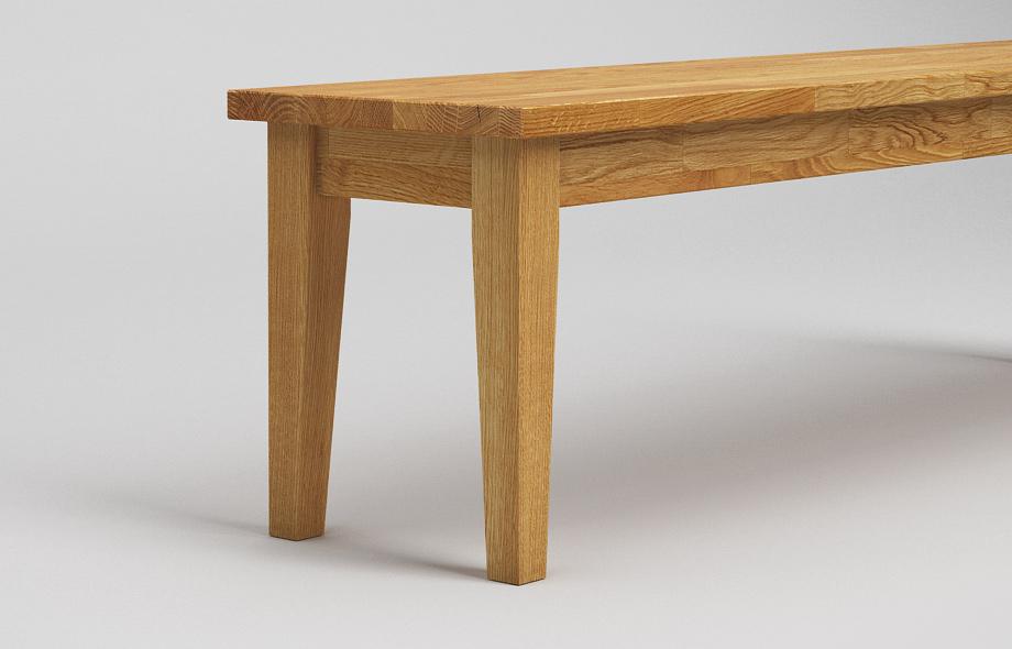 sb21 sitzbank aus eiche massiv von frohraum. Black Bedroom Furniture Sets. Home Design Ideas