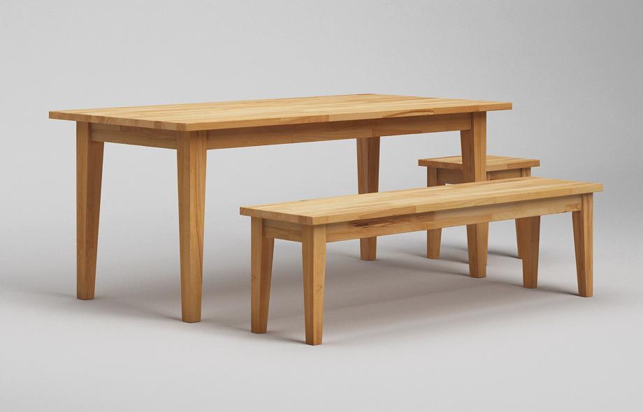 sb21 sitzbank aus kernbuche massiv von frohraum. Black Bedroom Furniture Sets. Home Design Ideas