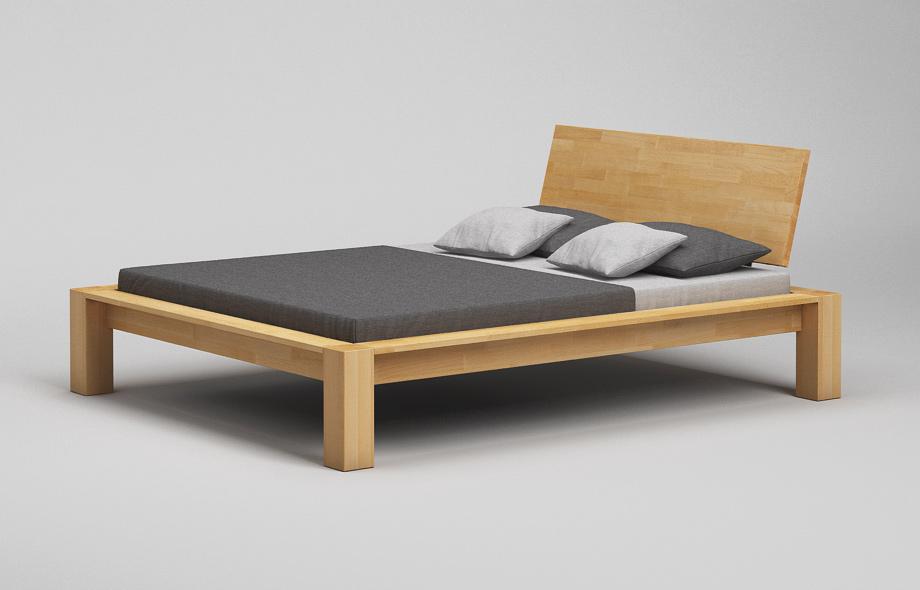 Bett Kopfteil Planen : B k bett mit kopfteil aus massivholz maßgefertigt von frohraum