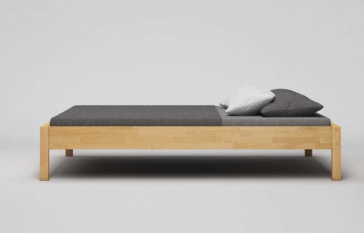 b40 bett aus massivholz ma gefertigt von frohraum. Black Bedroom Furniture Sets. Home Design Ideas