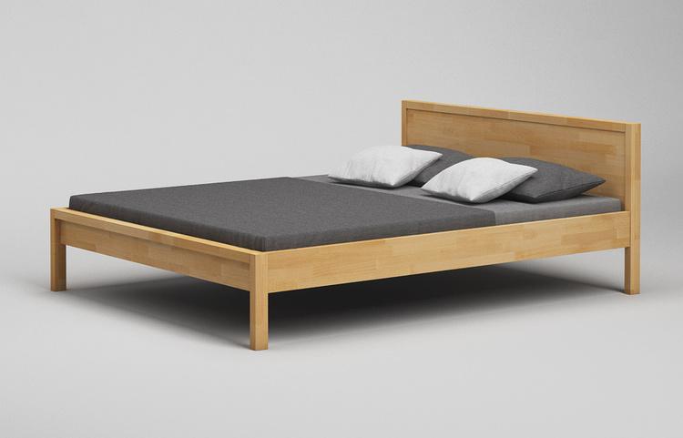 b41 bett mit kopfteil aus massivholz nach mass von frohraum. Black Bedroom Furniture Sets. Home Design Ideas