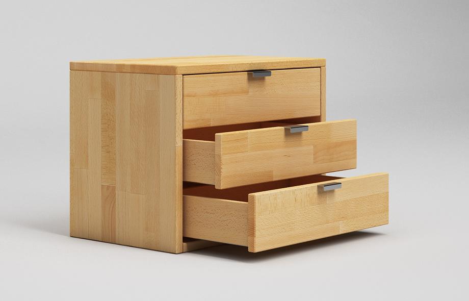 nt03 nachttisch aus buche massivholz. Black Bedroom Furniture Sets. Home Design Ideas