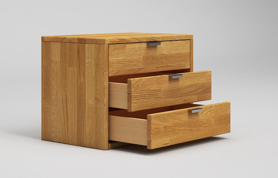 nt03 nachttisch aus eiche massivholz von frohraum. Black Bedroom Furniture Sets. Home Design Ideas