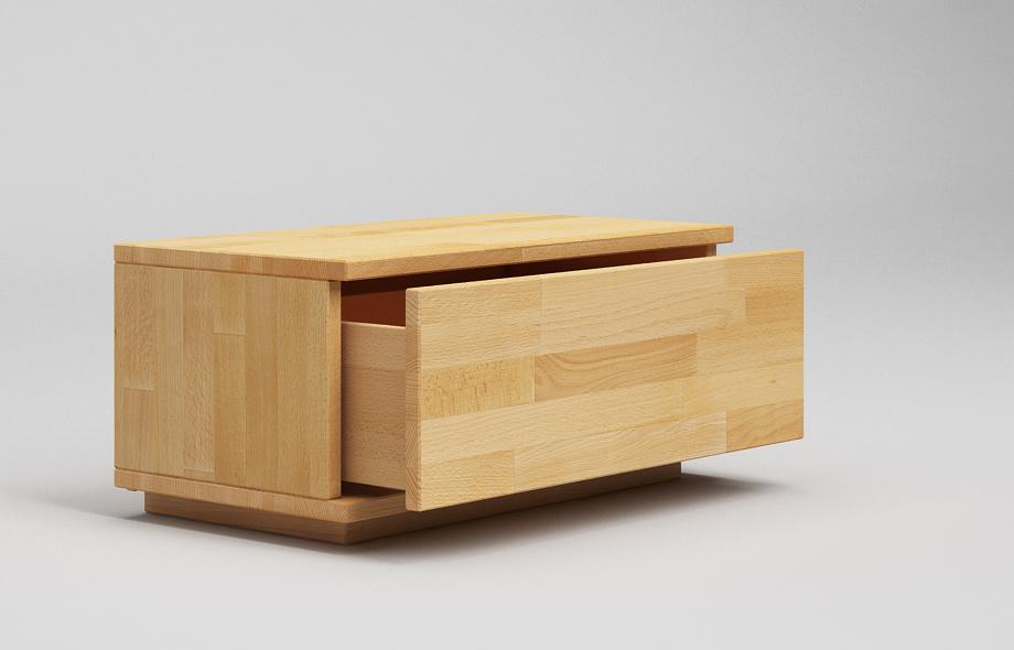 nt11 nachttisch aus buche massivholz von frohraum. Black Bedroom Furniture Sets. Home Design Ideas