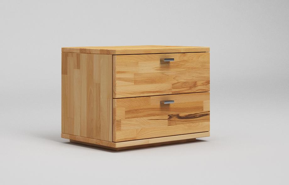 nt12 nachttisch aus kernbuche massiv von frohraum. Black Bedroom Furniture Sets. Home Design Ideas