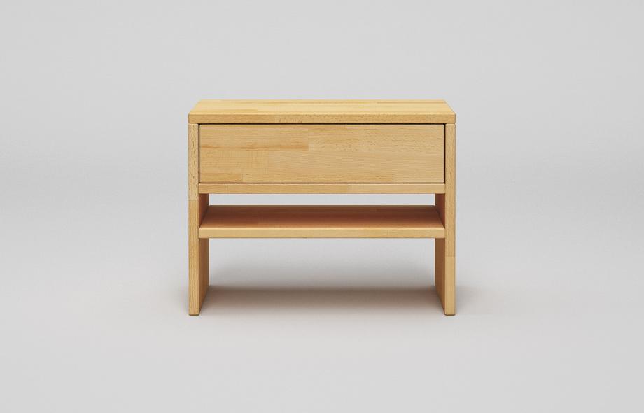 nt01 nachttisch aus buche massivholz. Black Bedroom Furniture Sets. Home Design Ideas