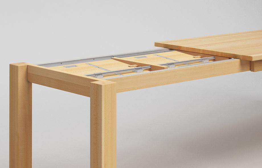 et10 ka ausziehtisch aus massivholz von frohraum. Black Bedroom Furniture Sets. Home Design Ideas