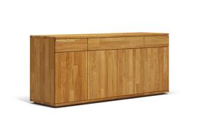b44 bett kufenbett aus massiver eiche mit kopfteil von frohraum. Black Bedroom Furniture Sets. Home Design Ideas