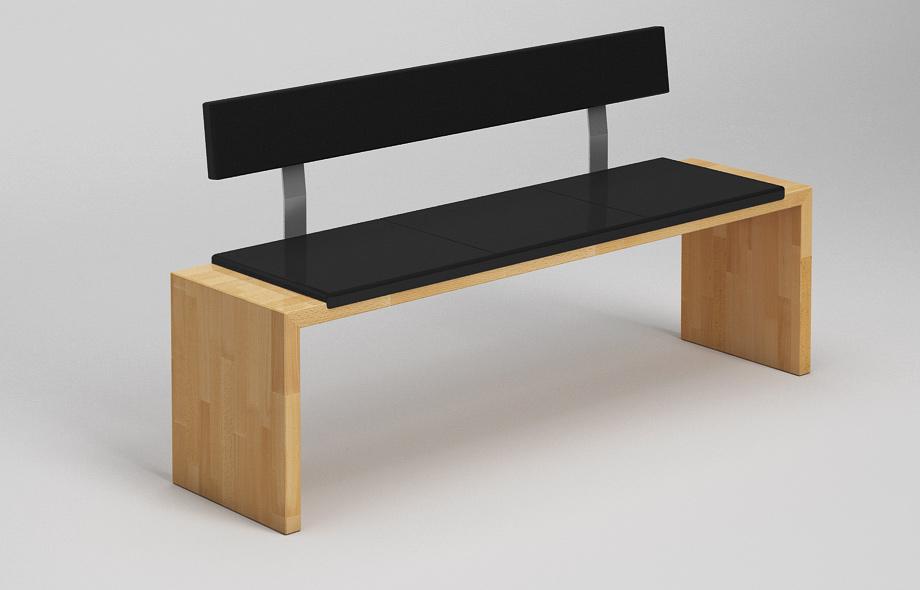 sb30l sitzbank buche massiv. Black Bedroom Furniture Sets. Home Design Ideas
