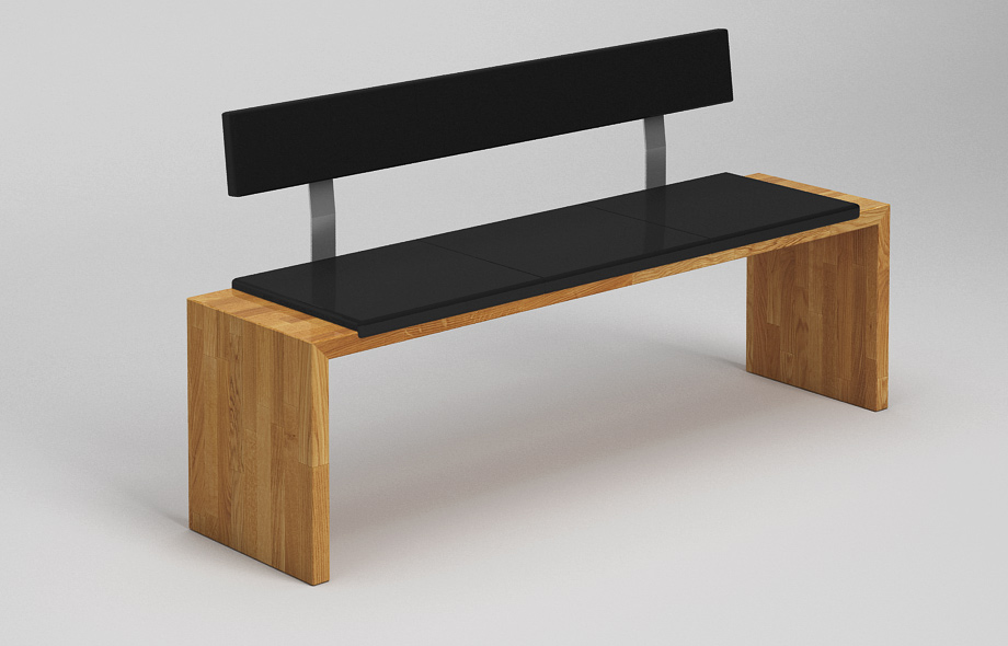 sb30l sitzbank eiche massiv. Black Bedroom Furniture Sets. Home Design Ideas