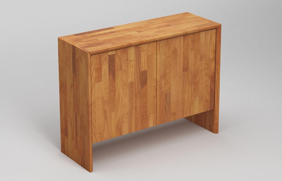 S302 sideboard aus kirschbaum massiv von frohraum for Sideboard kirschbaum