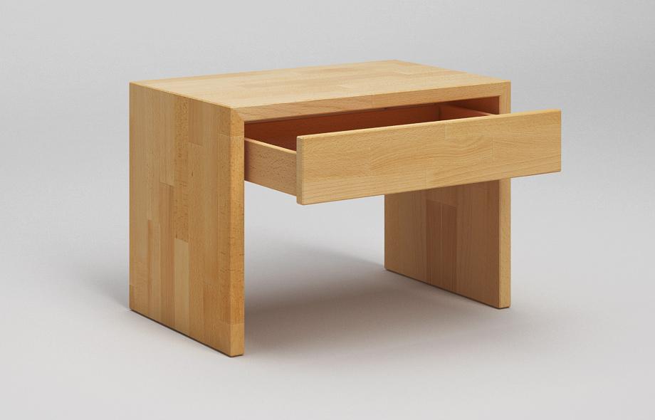 nt31 nachttisch in buche auf gehrung verleimter. Black Bedroom Furniture Sets. Home Design Ideas
