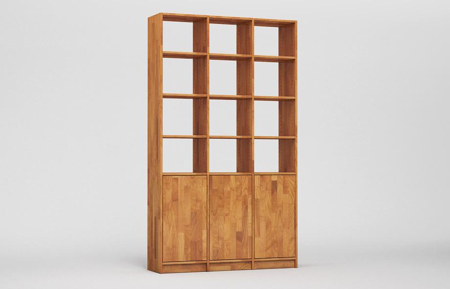 r103 regal kirschbaum massiv von frohraum. Black Bedroom Furniture Sets. Home Design Ideas