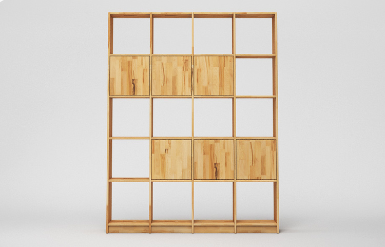 r106 regal massiv a2 holz kernbuche kgl