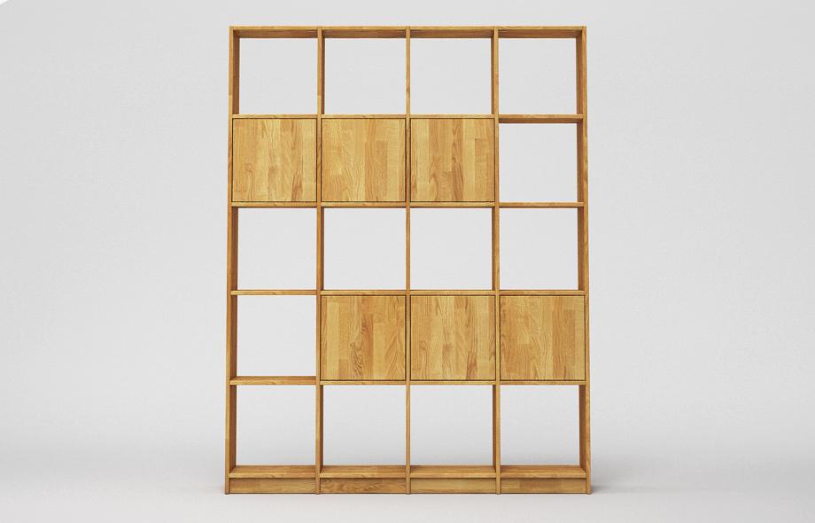 r106 regal wildeiche massiv von frohraum. Black Bedroom Furniture Sets. Home Design Ideas