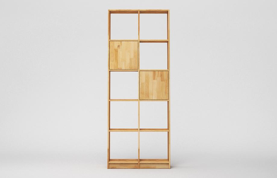 r107 regal kernbuche massiv von frohraum. Black Bedroom Furniture Sets. Home Design Ideas