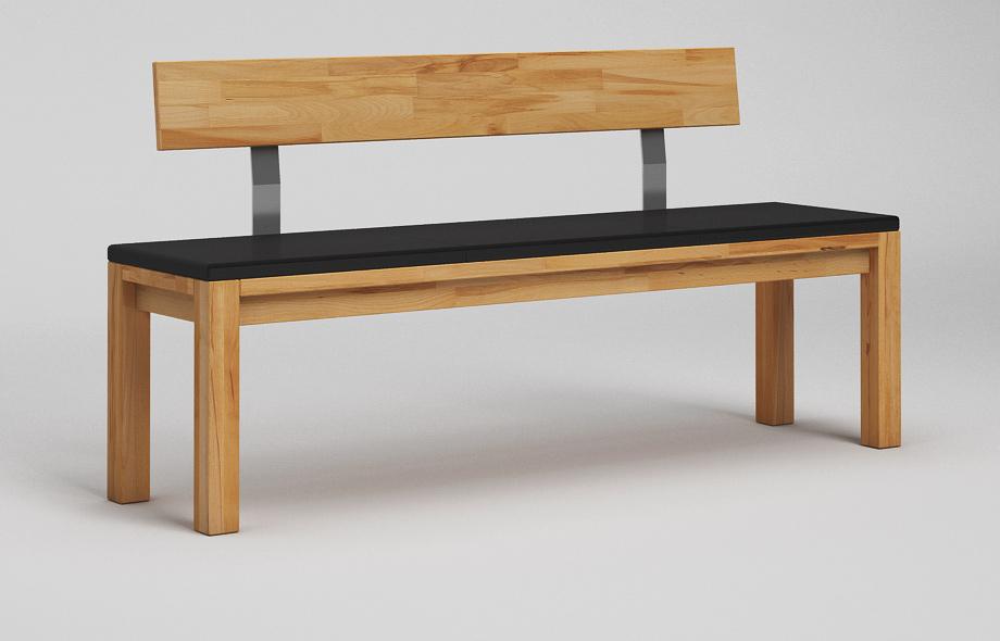 sb13l sitzbank kernbuche massiv. Black Bedroom Furniture Sets. Home Design Ideas