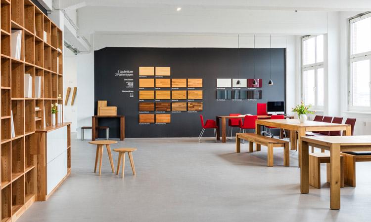 Frohraum Showroom Berlin - Möbel nach Maß - Ausstellung ...
