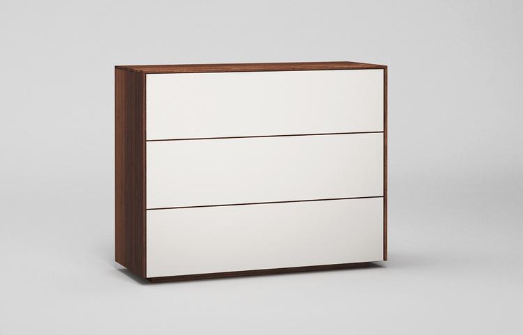 Sideboard-s501-farbglas-ral9010-a1-nussbaum