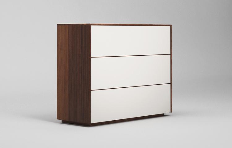 Sideboard-s501-farbglas-ral9010-a3-nussbaum