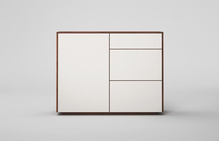 Sideboard-s502-farbglas-ral9010-a2-nussbaum