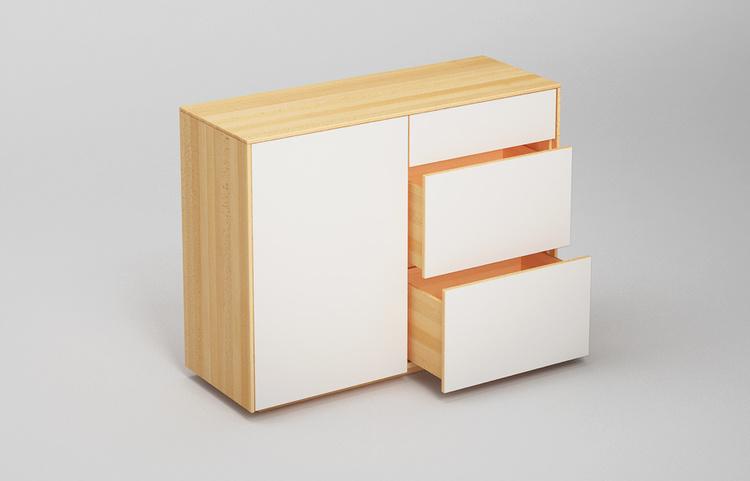Sideboard-s502-farbglas-ral9010-a4-buche