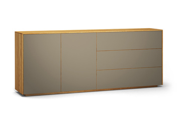 Sideboard wandhängend  Sideboard massiv: Nach Maß in 7 Holzarten von Frohraum