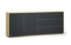 Sideboard-s503-farbglas-ral7016-a1w-ahorn-dgl