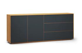 Sideboard-s503-farbglas-ral7016-a1w-kernbuche-dgl