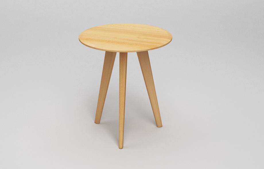 ct102 runder couchtisch aus massivholz von frohraum. Black Bedroom Furniture Sets. Home Design Ideas