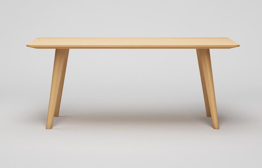 Tisch Zargenlos ~ ET125 Esstisch  Zargenloser Tisch mit Schweizerkante und runden Ecken