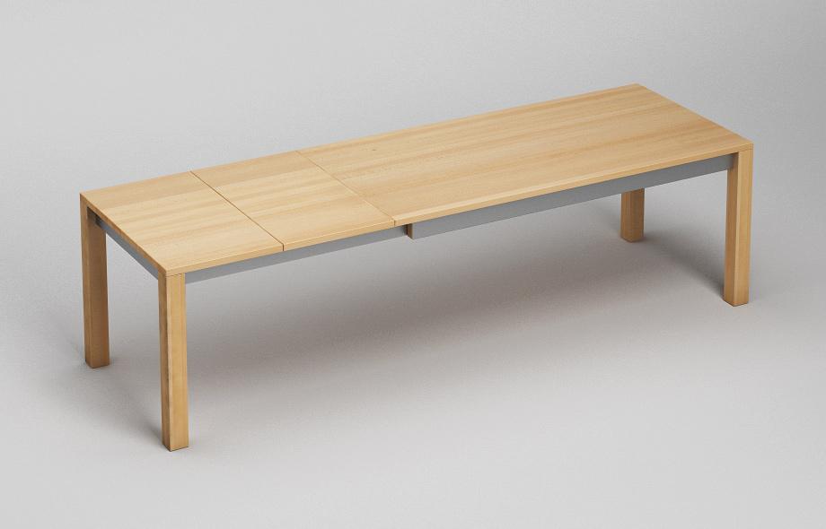 et210 ka ausziehtisch aus massivholz von frohraum. Black Bedroom Furniture Sets. Home Design Ideas
